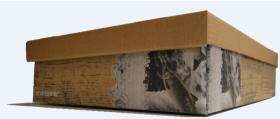 ECO FISH BOX 10 KG MANUELL U/PRINT