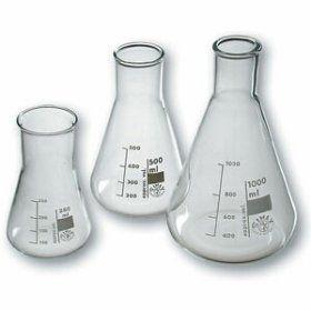 ERLENMEYERKOLBE 500 ml GLASS